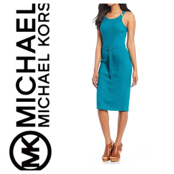 c72053603fb New PLUS SIZE Michael Kors Rib Knit Tank Dress